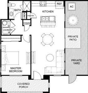 Floor plan 1 Havenly Fountain Hills