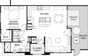 Floor Plan 2 Havenly Fountain Hills