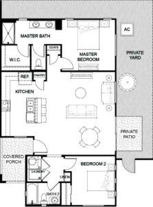 Floor Plan 3 Havenly Fountain Hills