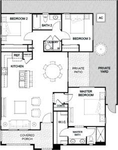 Floor Plan 5 Havenly Fountain Hills